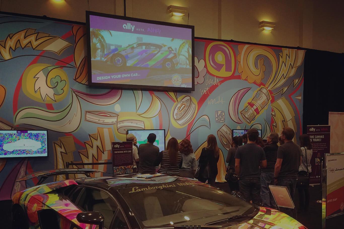 Ally Cars Meet Art