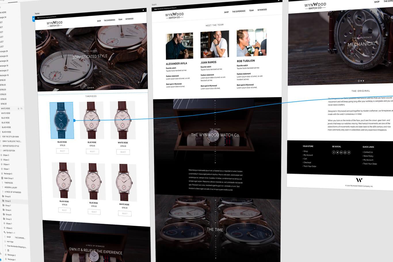 Adobe XD - kabookaboo's big step forward with website prototyping