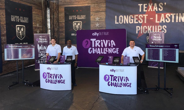 Ally Trivia Challenge Activation